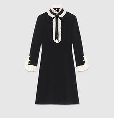 Gucci - ヴィスコースジャージー ロングスリーブ ドレス 434251X5C781960