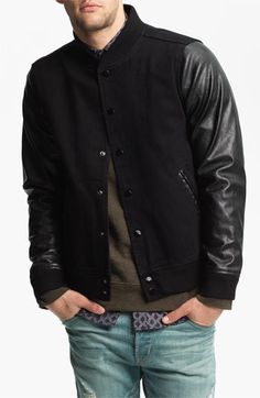 Obey 'Youth' Varsity Jacket         $126.00