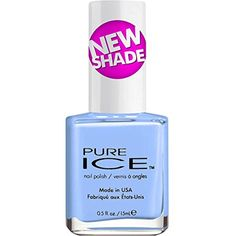 Pure Ice Nail Polish Periwinkle In Time  #FootHandNailCare