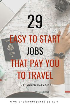 29 Realistic Travel Jobs: How to Get Paid to Travel the World in 2020 Travel Careers, Travel Jobs, Work Travel, How To Make Money, How To Get, Study Abroad, Travel Around The World, You Can Do, Making Ideas