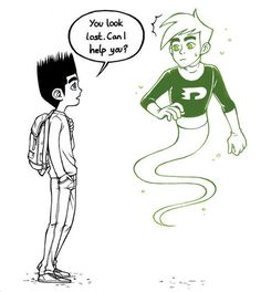 paranorman and danny phantom. OMG YES PLEASE!!!!!!!!!