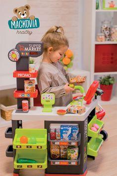 Detský obchod #Smoby Supermarket je nadčasová hračka pre všetky neposedné deti od 3 rokov. Deti zaujme nielen nádherným dizajnom, ale tiež množstvom funkcií a doplnkov. Child Love, Toy Chest, Playroom, Storage Chest, Marketing, Children, Home Decor, Kids, Homemade Home Decor