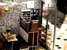 Miniature Hong Kong Cafe