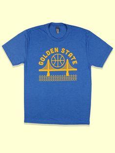 Golden State Unisex Tee Blue