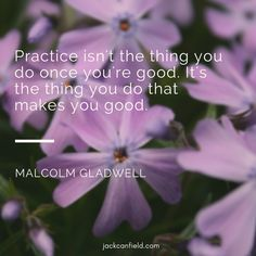 Words to live by! If anything is worth doing, it is worth doing well. #Practice is the key to doing well.