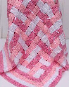 Baby Blocks Afghan Crochet Pattern