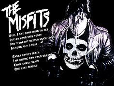 """Last Caress"" by The Misfits is one of my all time favorites. Julian and I think it should be the American Horror theme song haha"