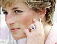"Princess Diana: Princess Diana chose her own ring from Garrard Jewelers when Prince Charles proposed to her. There are a couple of different theories on why Diana selected her 18-carat oval sapphire surrounded by 14 diamonds: the color matched her eyes, the Queen may have actually selected it, or as Diana was later quoted as saying, ""It was the biggest."" Who's to say what the real reason is?"