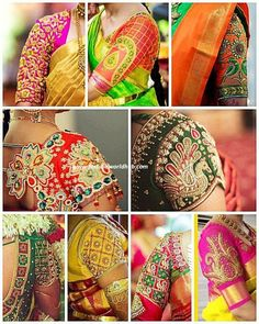 Handmade Embroidery Designs for Sarees . 59 Fresh Handmade Embroidery Designs for Sarees . Pattu Saree Blouse Designs, Bridal Blouse Designs, Blouse Neck Designs, Sleeve Designs, Blouse Patterns, Hand Work Blouse Design, Stylish Blouse Design, Sari Bluse, Latest Maggam Work Blouses
