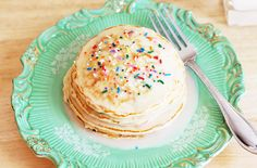 Birthday Sprinkles Pancakes