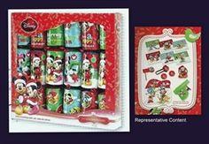 Cym Cards. 6 x 10 inch Disney Crackers in Tray from Tom Smith - Mickey €8