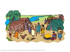 People living together on the plains of Shinar.