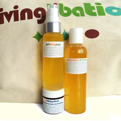 Living Libations - Baby Bundle of Joy | It is never too early to indulge in the joys of bathing! Turn baby's bath time into pure fun with these all-natural, 100% organic, plant-based elixirs and protective balms. Skin, hair, and behinds that are bare will love the soothing, nurturing nature of our mild, gentle Jai baby collection. Each product also doubles as tender loving care for mom and dad too!