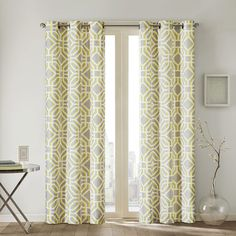 Intelligent Design Alana Geometric Print Curtain Panel - Overstock™ Shopping - Great Deals on ID-Intelligent Designs Curtains