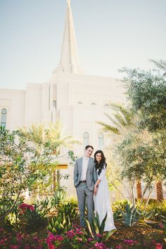 Gilbert temple wedding