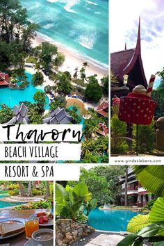 Thavorn Beach Village Resort & Spa Kamala Phuket - Luxus pur - in Thailand Phuket Travel, Phuket Hotels, Thailand Travel, Hotels And Resorts, Phuket Thailand, Thavorn Beach Village, Stuff To Do, Things To Do, Thailand Adventure