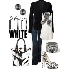 Jeans with black and white zebra #animal print #womens fashion