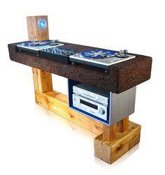 Custom DJ table by Trevor O'Neil