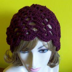 Sprial shell rasta hat free crochet pattern