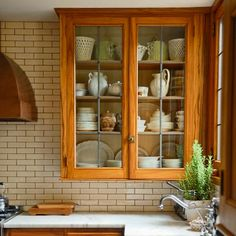 Photo: Courtesy of Deborah Hall and Don Post | thisoldhouse.com | Love the wood doors with glass
