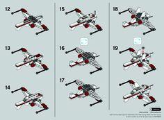 2 Star Wars - ARC-170 Starfighter [Lego 30247]