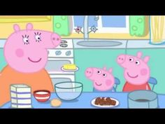 Watch three episodes of the wonderful Peppa Pig! 1) Swimming (0:00-5:00) Peppa and her family are at the swimming pool. George is a little worried at first b...