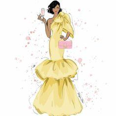 Fashion Design Sketchbook, Fashion Sketches, Megan Hess Illustration, Photoshoot Inspiration, Happy Friday, Fashion Art, Aurora Sleeping Beauty, Girly, Disney Princess