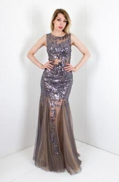 Black sleeveless lace dress 90897 jovani 33040