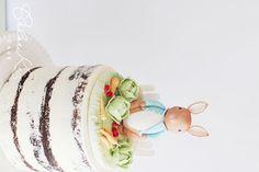 Peter Rabbit semi naked cake