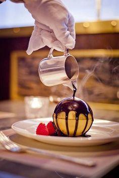 Champagne and Caviar Dreams. Butler service...