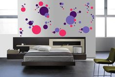 114 Polka Dots - Vinyl Wall Decal