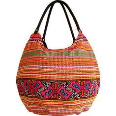 Boho Love Embroidered Bag