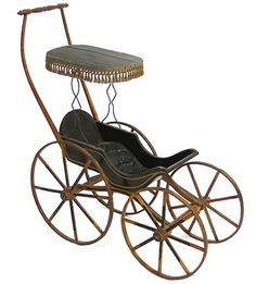 Victorian Baby Carriage  A really good piece http://www.geojono.com/