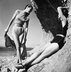 GENEVIEVE NAYLOR  Claire Mc Cardell, Harper's Bazaar, 1945