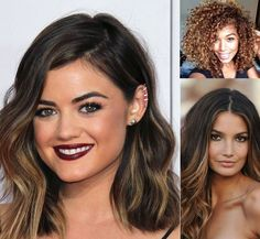 Ombre hair: the most beautiful color gradients and if we dared ombre hair? Best Ombre Hair, Ombre Hair Color, Hair Colour, Medium Hair Styles For Women, Blonde Tips, Hair Inspiration, Colour Inspiration, Ombré Hair, Hair Color Highlights