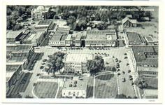 Aerial view of Clarksville.