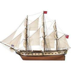 Ship model Surprise, wooden kit Artesania Latina (www.victoryshipmodels.com)