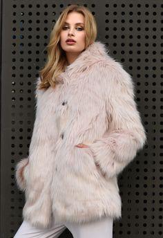 Faux Fur, Fur Coat, Lady, Pose, Jackets, Collection, Fashion, Down Jackets, Moda