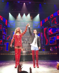 Kinky Boots the Broadway play starring Beebo Urie❤️✨