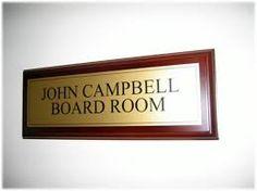 office door wooden plaque with acrylic name plategarosigns