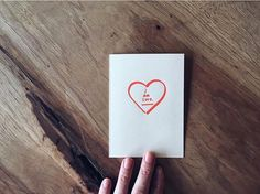 Make your sweetie feel special. Only four more days to find that perfect Valentine's Day card!  by byronandblue