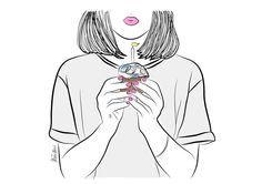 Ilustración #ilustración #draw #illustration #design #graphicdesign #dissenygràfic #diseñográfico #diseño #girl