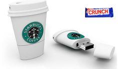 Starbucks Flash Drive
