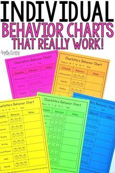 Kindergarten Behavior Charts, Classroom Behavior Chart, Behavior Chart Toddler, Behavior Plans, Student Behavior, Classroom Management, Behavior Chart For Preschoolers, Student Teaching, Preschool Behavior Management