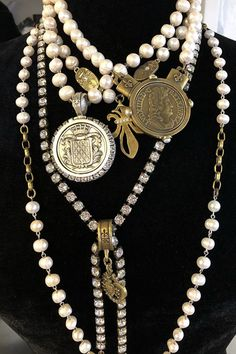 Apr 2020 - French Kande has PEARLS for days! Our Freshwater pearls are gorgeous and hand-picked by our designer and founder, Kande Hall. We design pearl necklaces, bracelets, rings, and earrings! Click through to SHOP pearls online! Crystal Jewelry, Pendant Jewelry, Silver Jewelry, Jewelry Box, Jewelry Armoire, Beaded Jewelry, Jewelry Hanger, Jewelry Displays, China Jewelry
