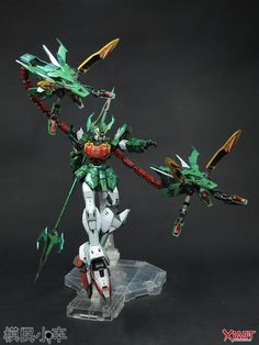 GUNDAM GUY: P-Bandai Exclusive: MG 1/100 Gundam Altron - Customized Build