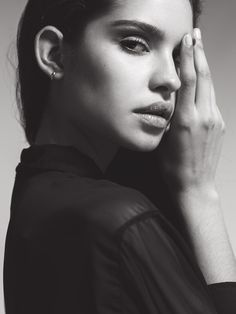 backspaceforward:  Hilda Dias Pimentel @ Next Models New York -- Fashion - Portrait - Photography - Black and White