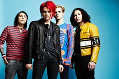 My Chemical Romance To Record New Album Next Month #Yay!