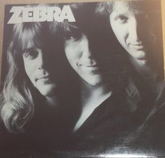 Zebra Vinyl Rock Record Album by RASVINYL on Etsy