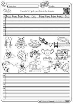 Caligrafia y autodictado en Montessori trabadaTr